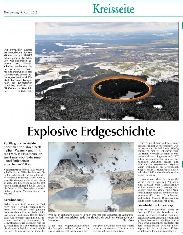 Explosive Erdgeschichte