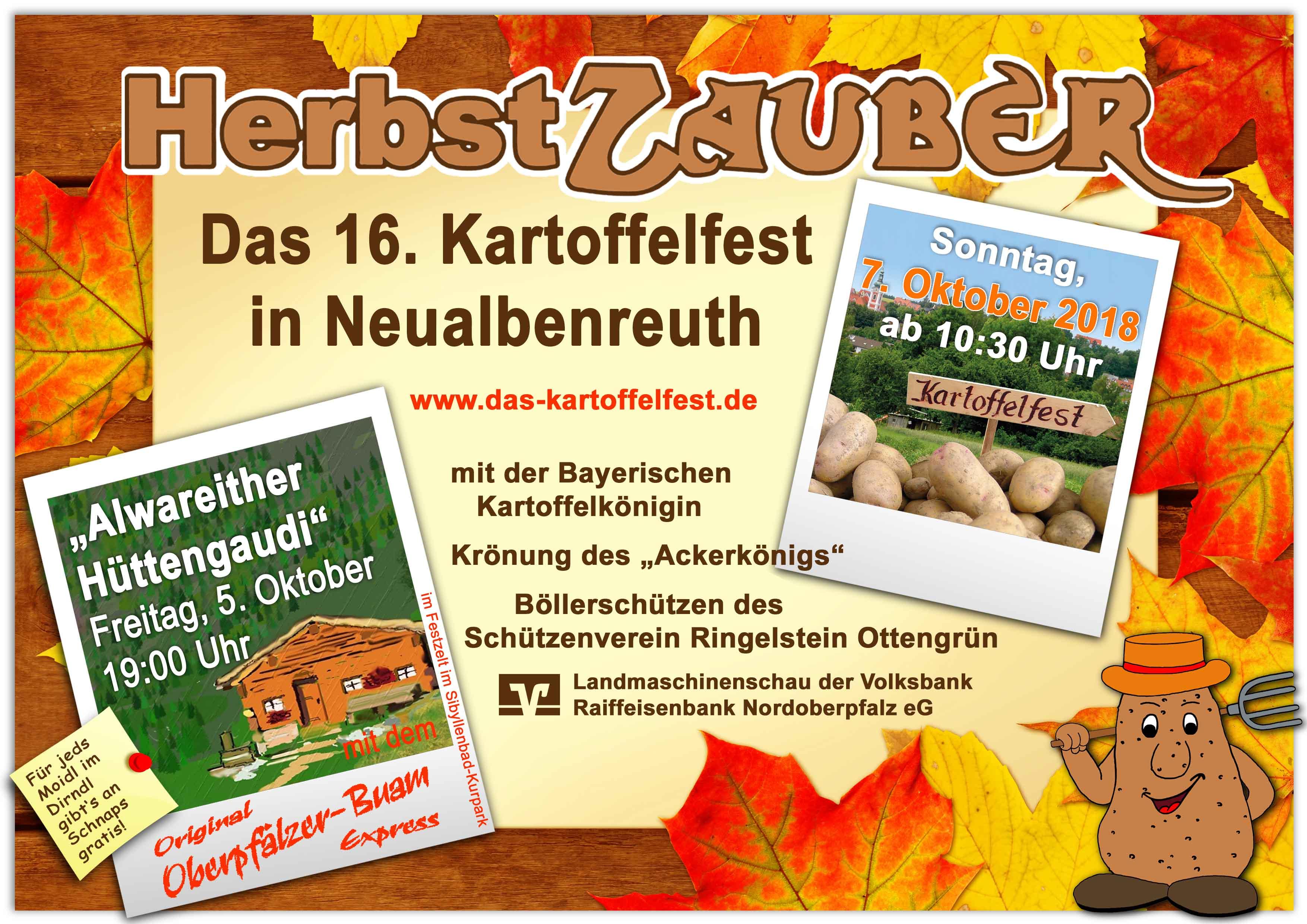 Kartoffelfest 2018 Flyer Titel2