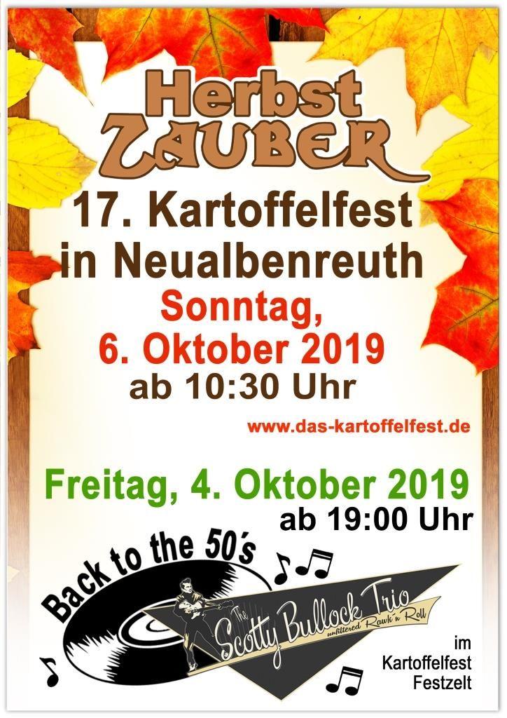 Kartoffelfest 2019 Herbstzauber Neualbenreuth klein