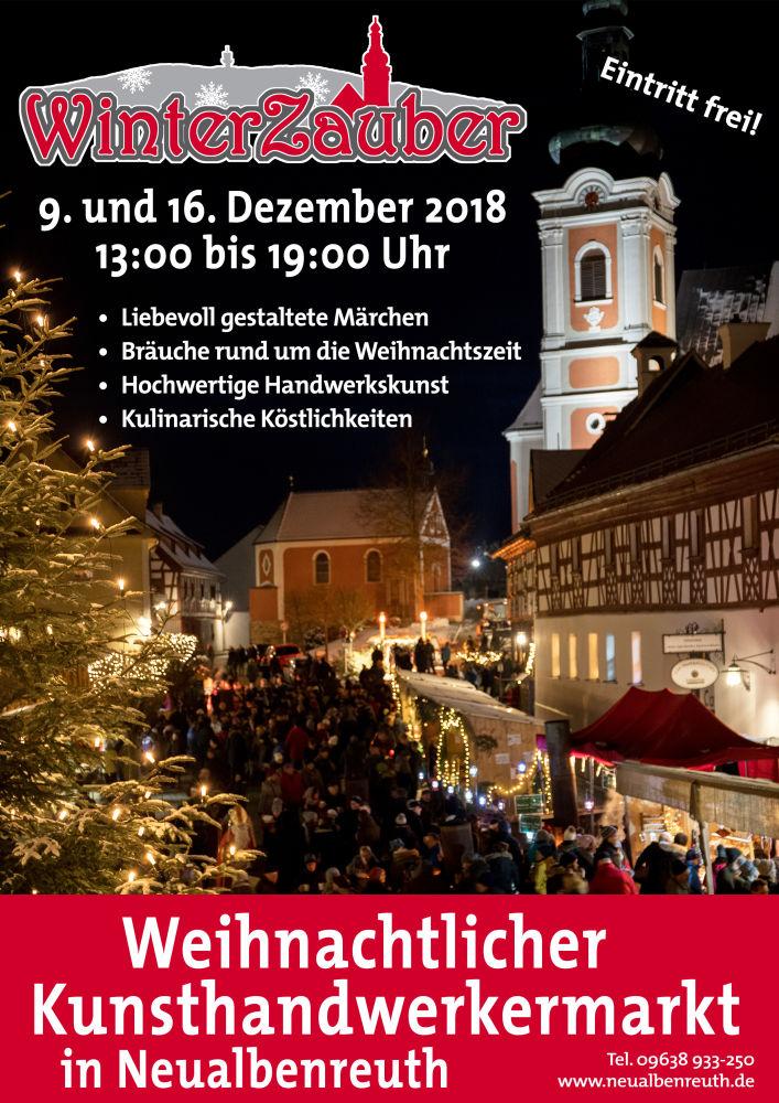 Weihnachtsmarkt 2018 Plakat