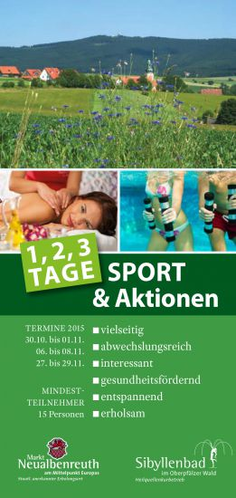 Sportwochenende Neualbenreuth