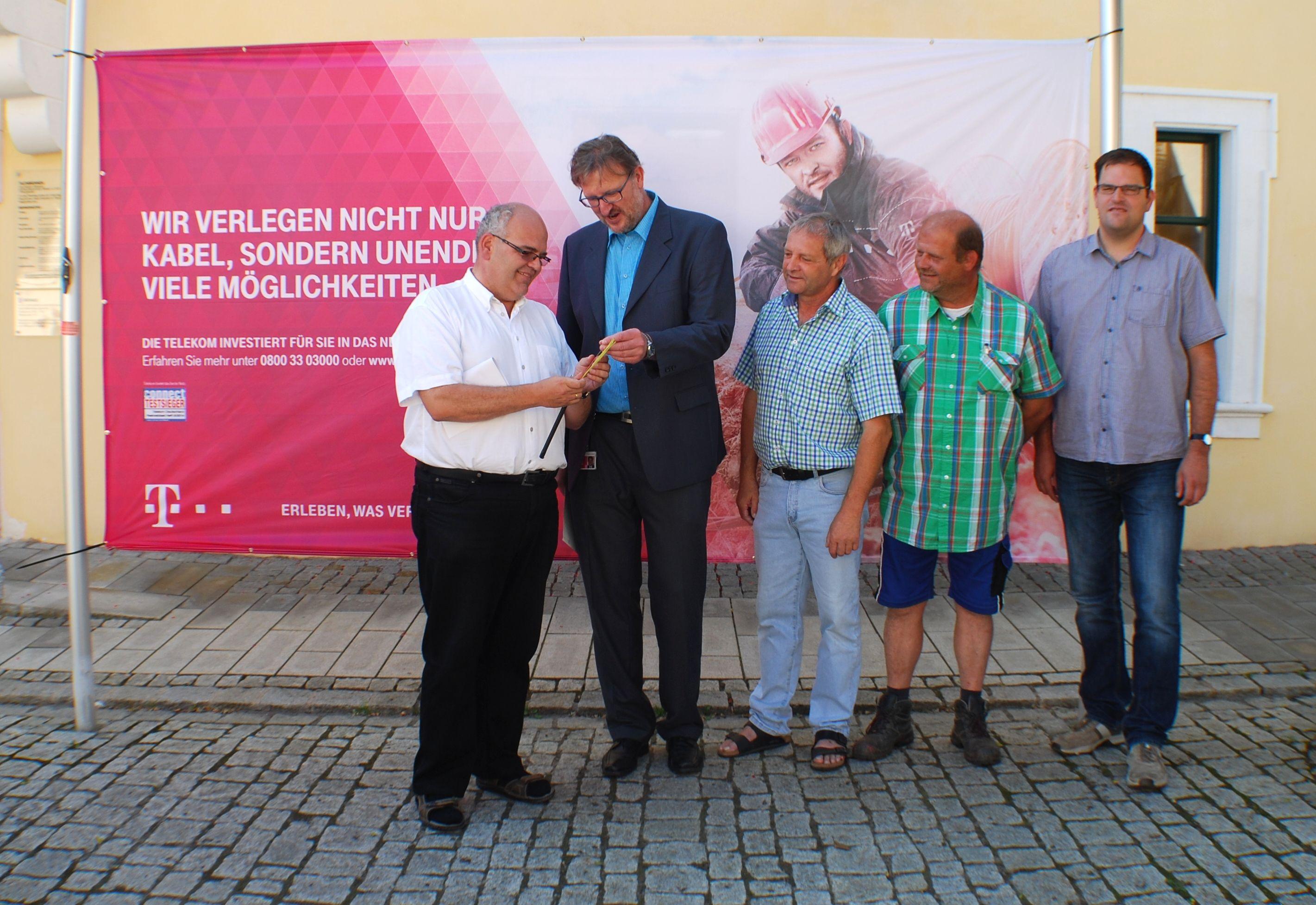 Start Breitbandausbau Neualbenreuth