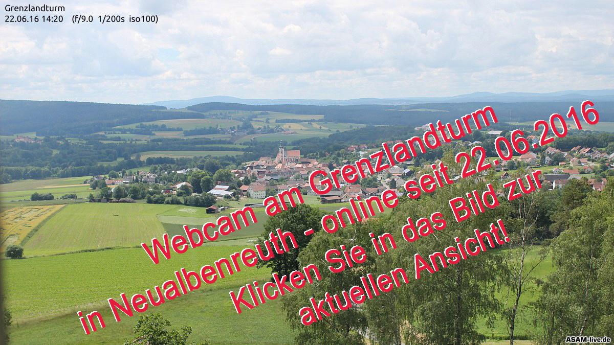 Webcam Neualbenreuth seit Juni