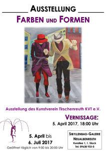 Plakat Farben und Formen