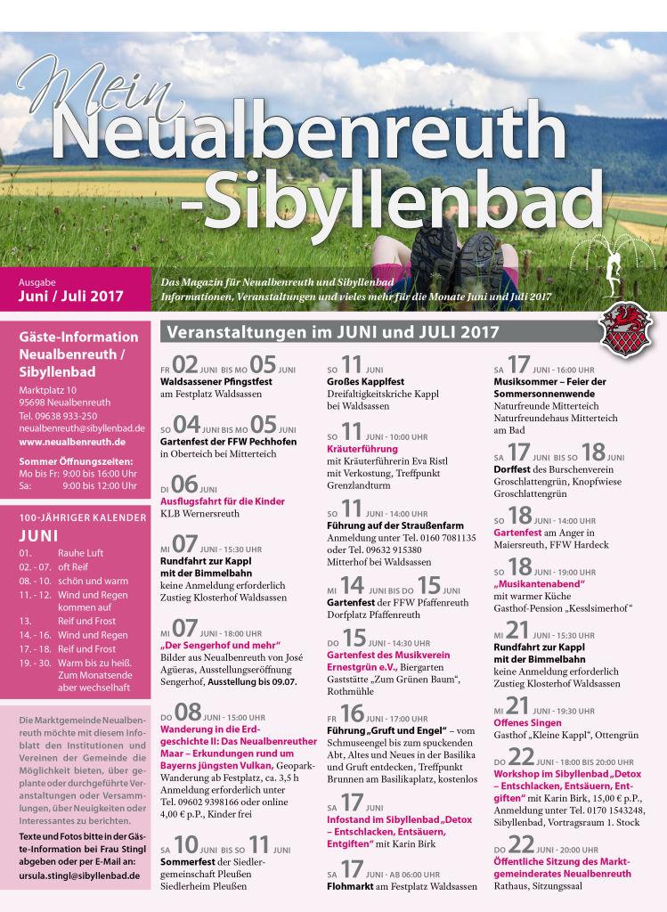 03 Neualbenreuth VA JuniJuli 2017 170519 Titel