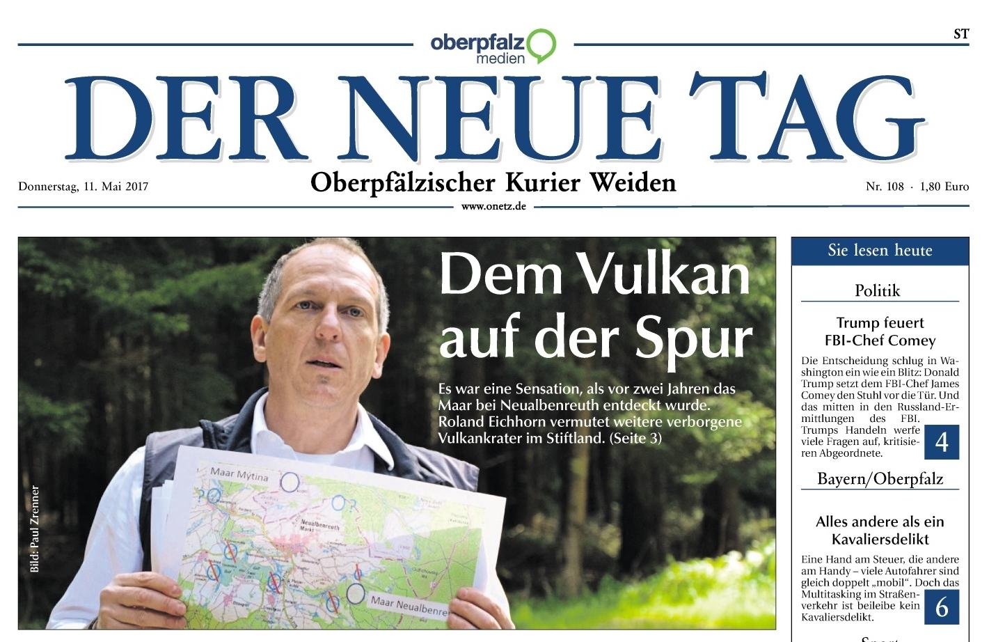 2017-05-11 Neualbenreuther Maar Titelseite