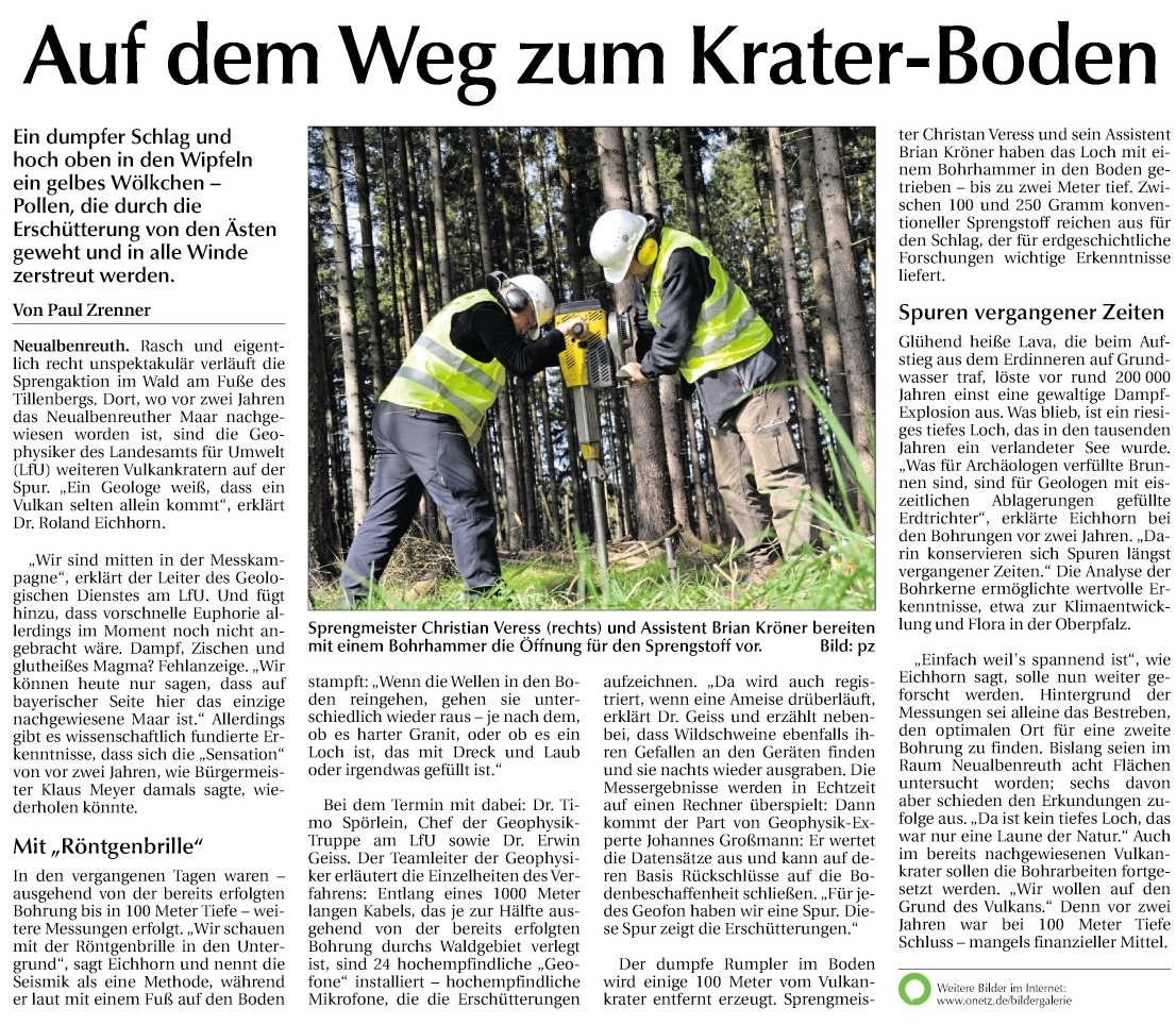 2017-05-11 Weitere Vulkankrater bei Neualbenreuth