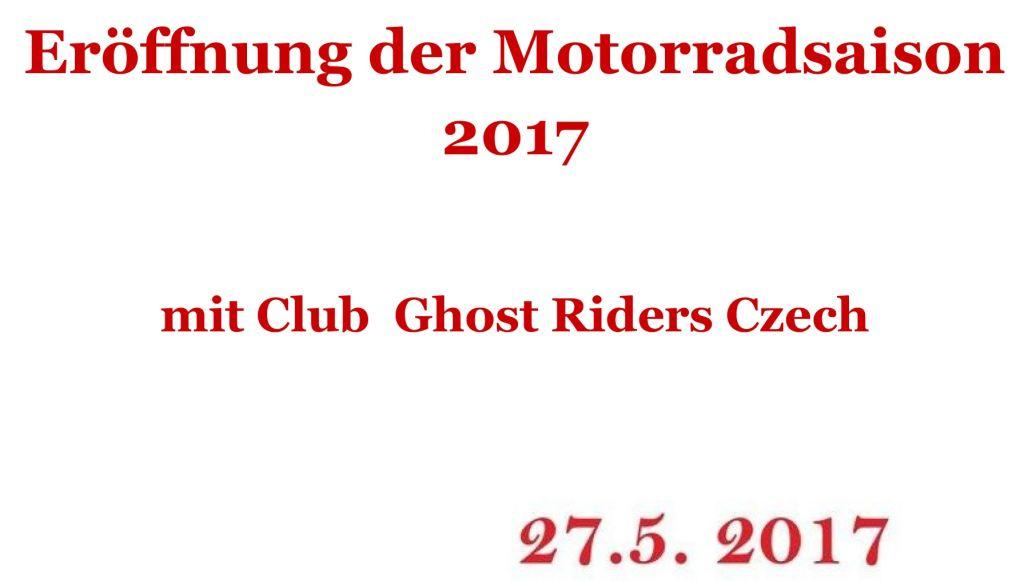 Eröffnung der Motorradsaison Neualbenreuth-Maiersgrün zugeschn