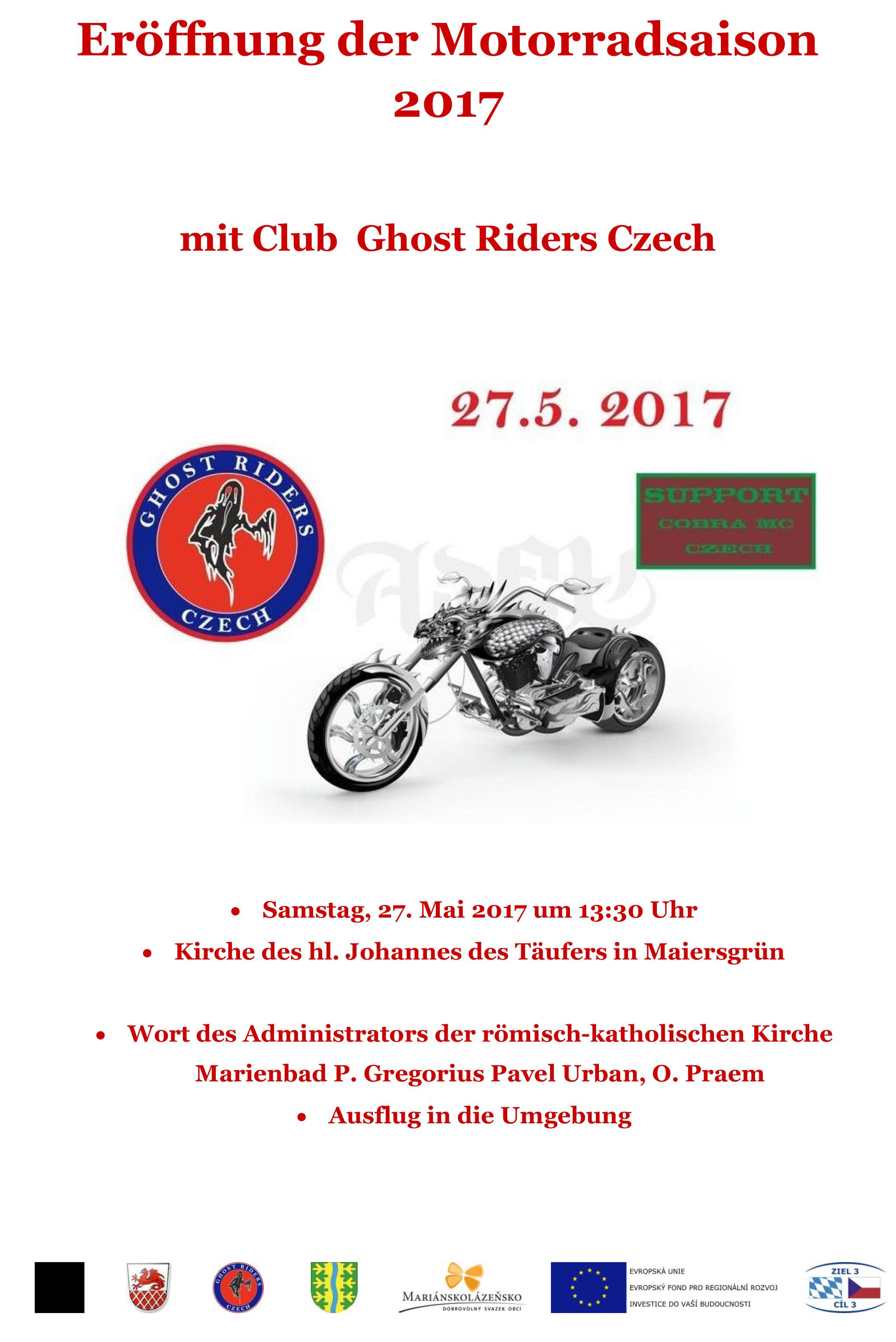 Eröffnung der Motorradsaison Neualbenreuth-Maiersgrün