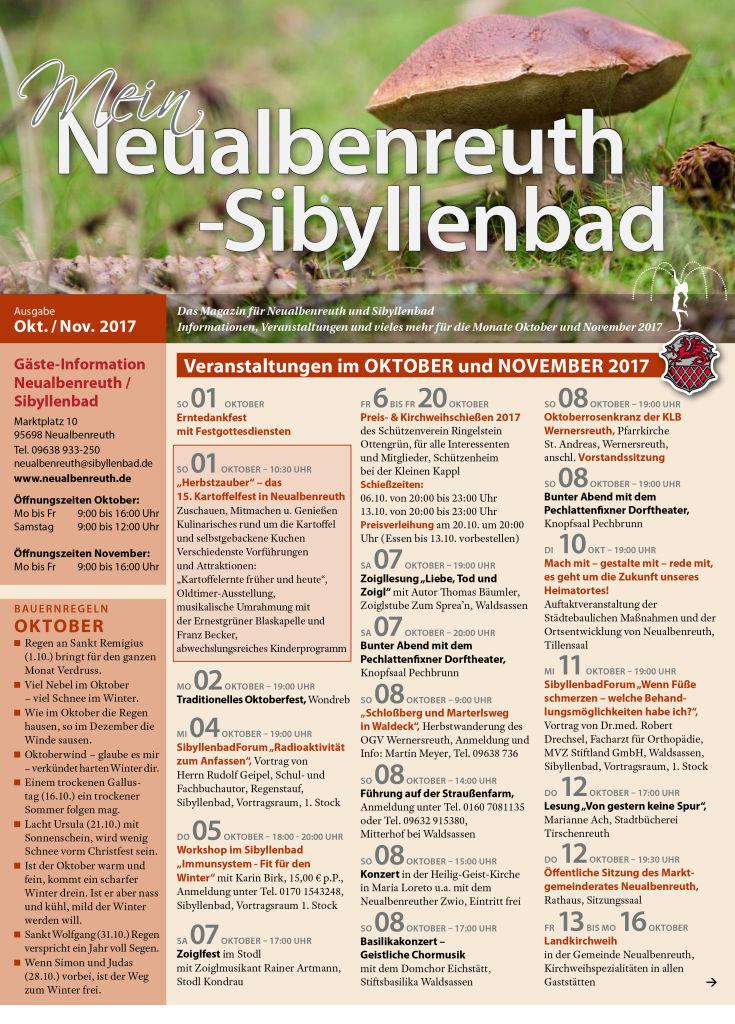 05 Neualbenreuth VA Okt_Nov 2017 Titel