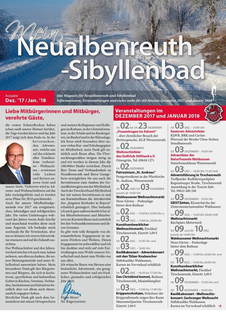 171127 Neualbenreuth VA Dez_Jan_Titel