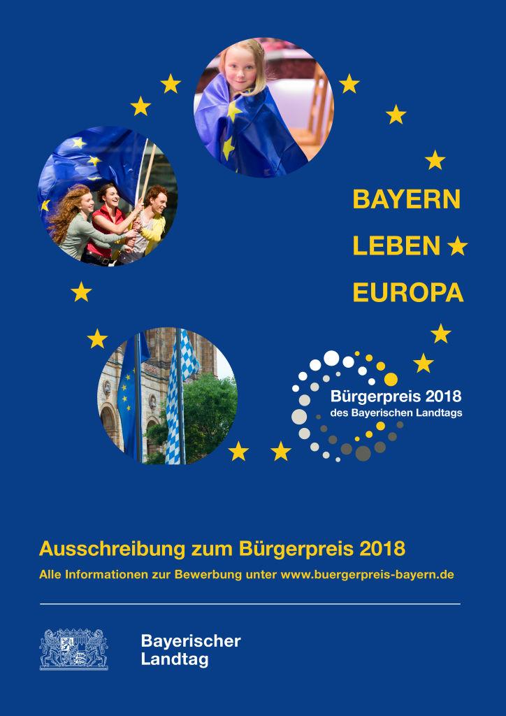 Plakat Bürgerpreis 2018