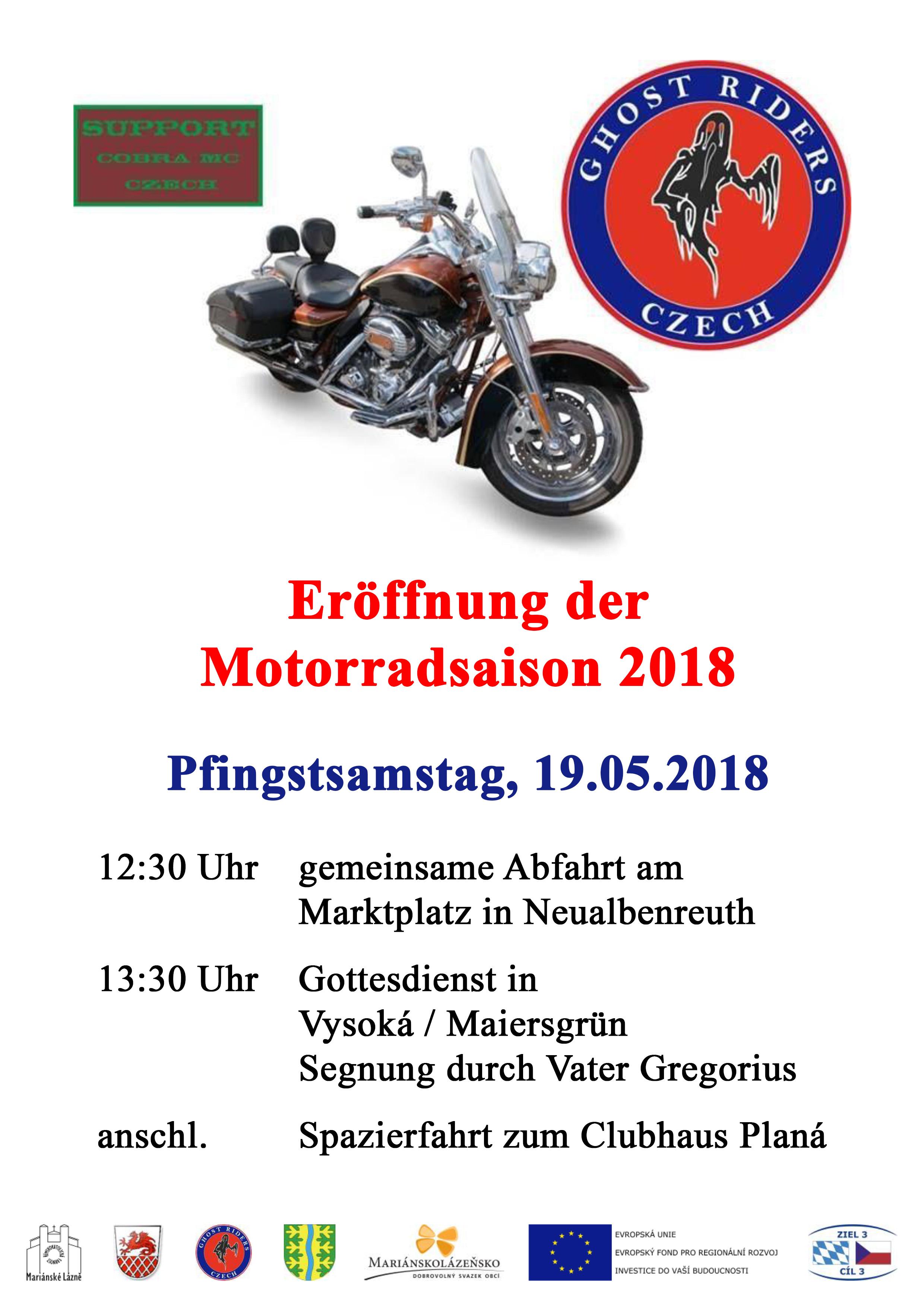 Motorradsaison 2018
