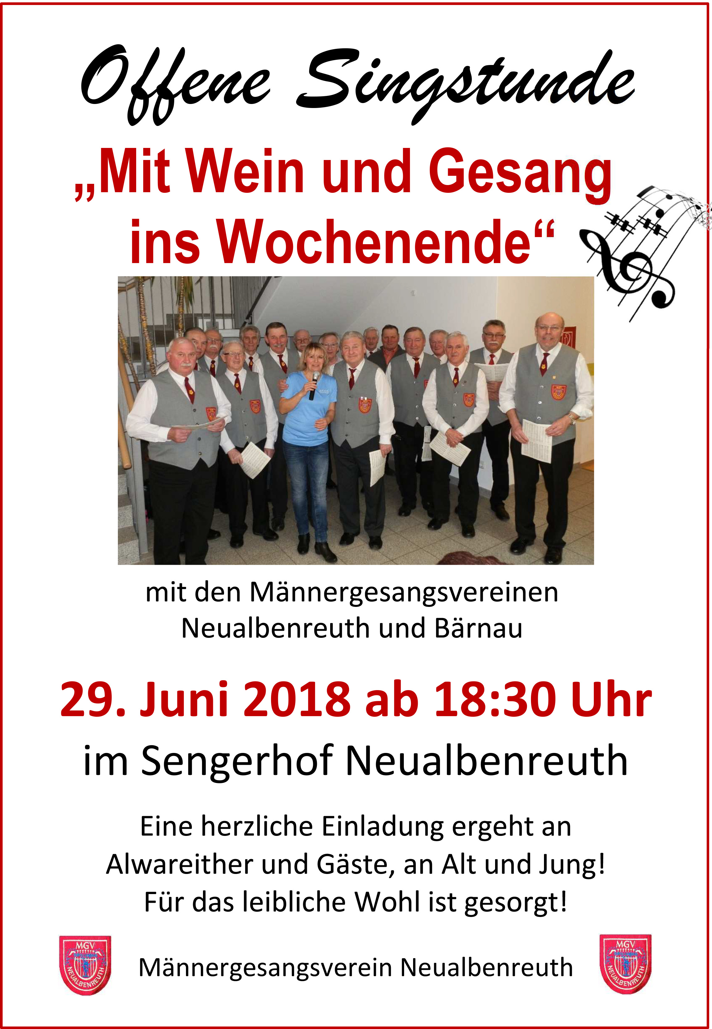 2018-06-29 MGV Offene Singstunde