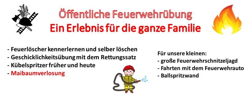 Feuerwehrübung 2019