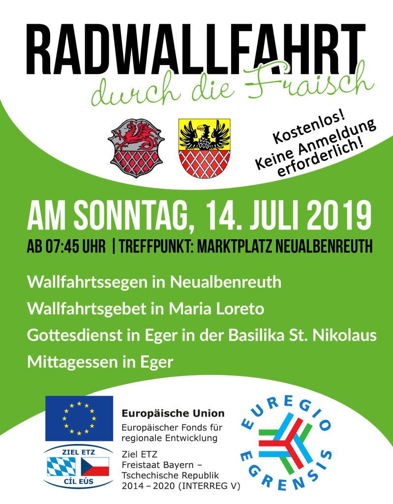 Radwallfahrt Neualbenreuth 2019-07-14