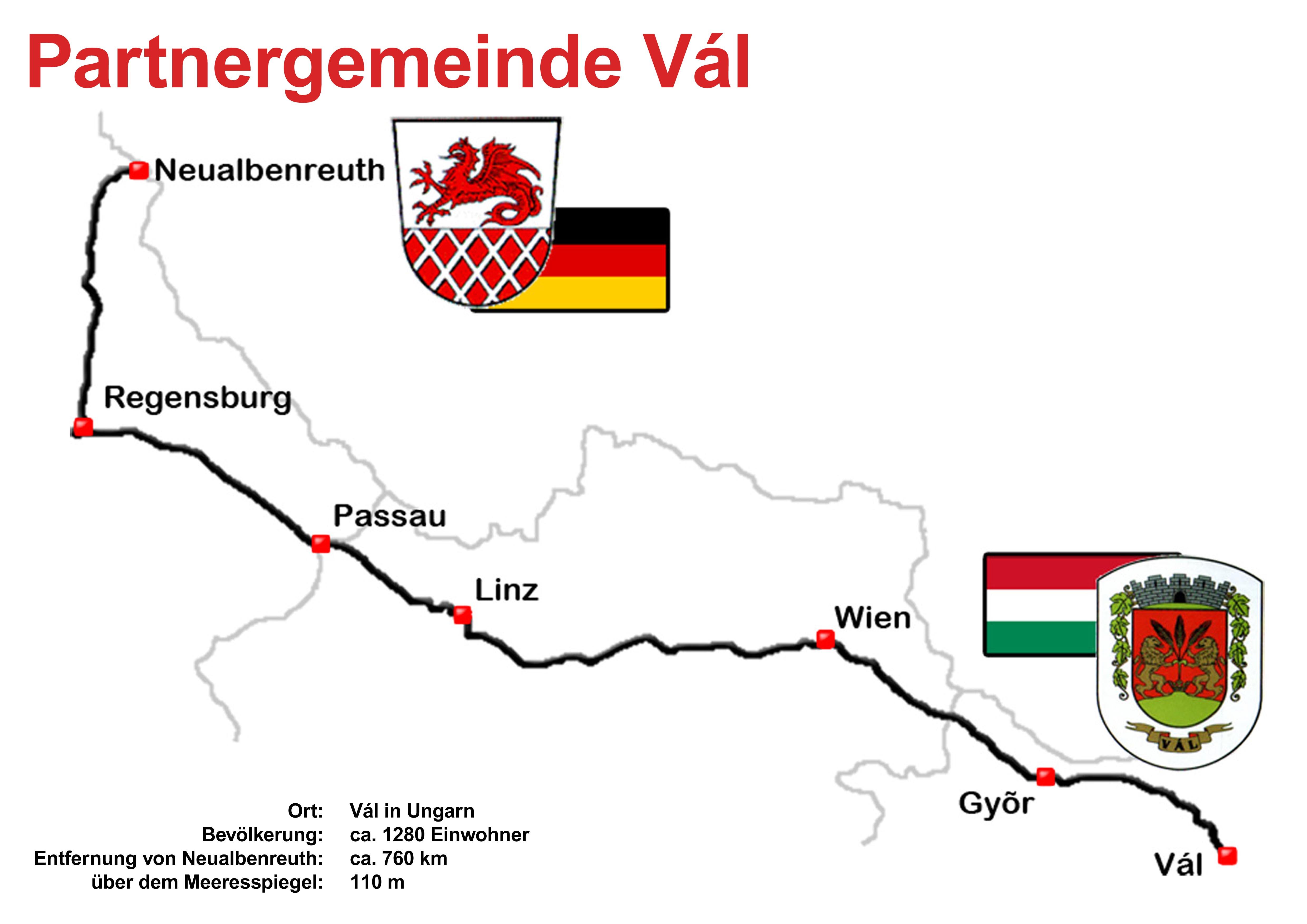 Neualbenreuth - Vál