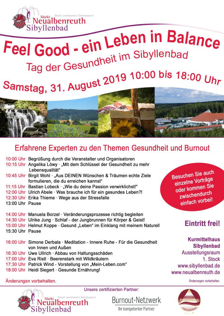 2019-08-31 Tag der Gesundheit Sibyllenbad Plakat