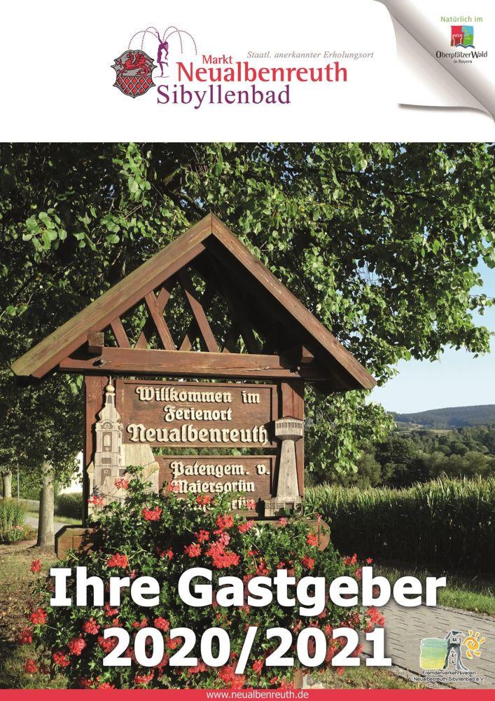 Gastgeberverzeichnis Neualbenreuth 2020-21 Titel