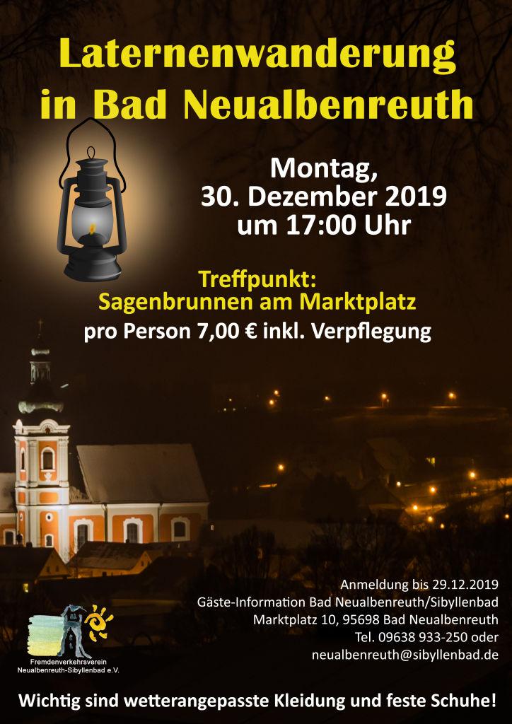 Laternenwanderung Plakat 2019