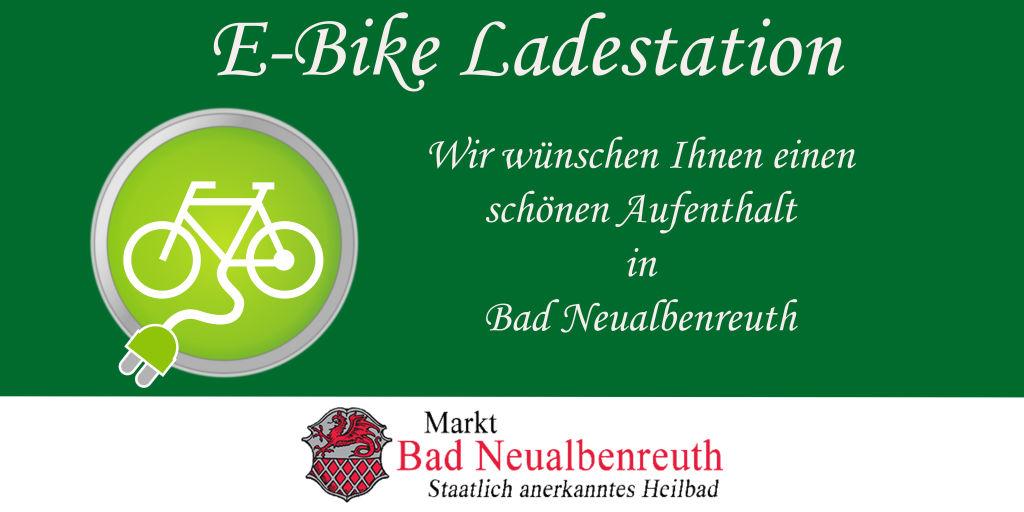 E-Bike Ladestation Quer ohne Pfeil