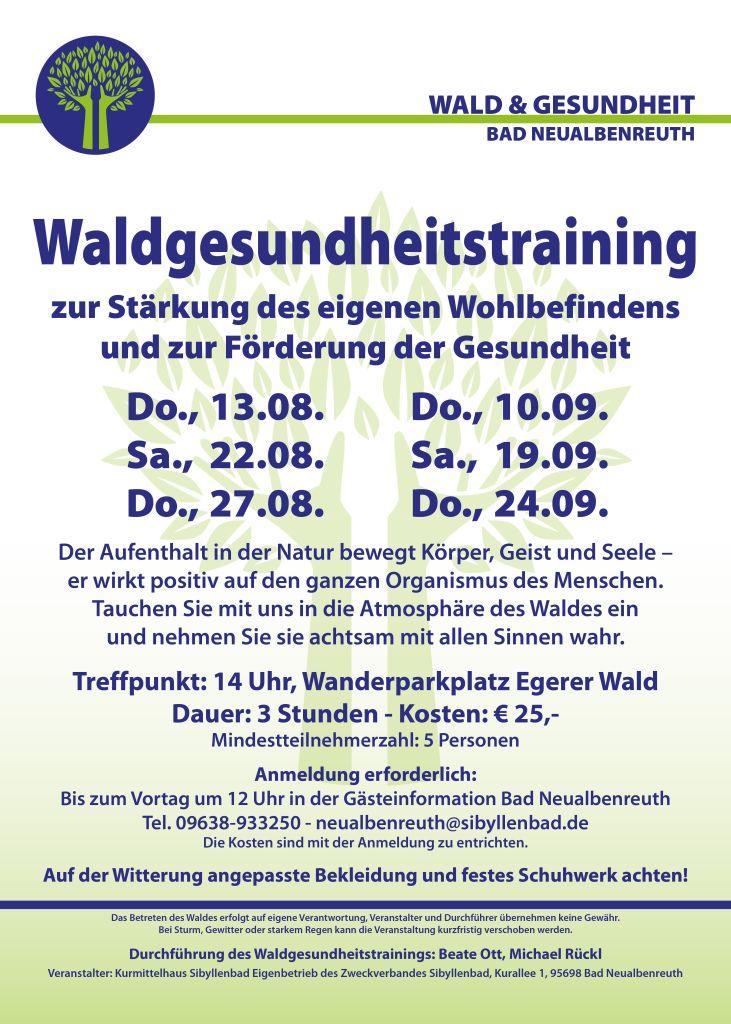 Training plakat