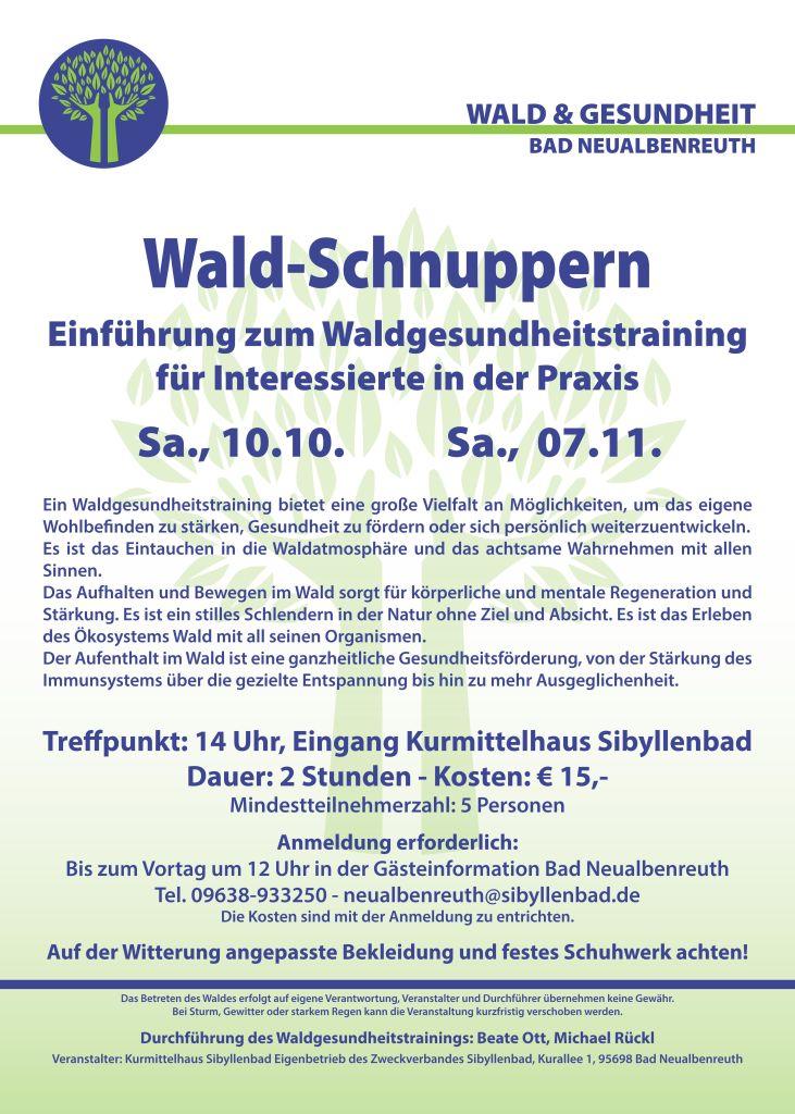 Waldgesundheitstraining 2020-10-11