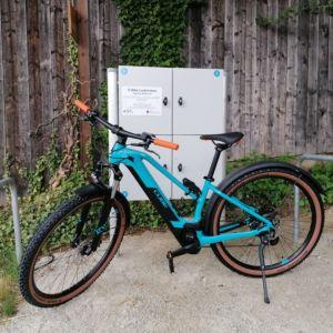 Mountainbike Trapez türkis